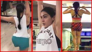 Sara Ali Khan's INTENSIVE Workout | Bollywood Diva