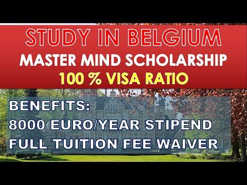 BELGIUM| Application Procedure| Latest Fully Funded scholarship in Belgium| Compete guide in Urdu