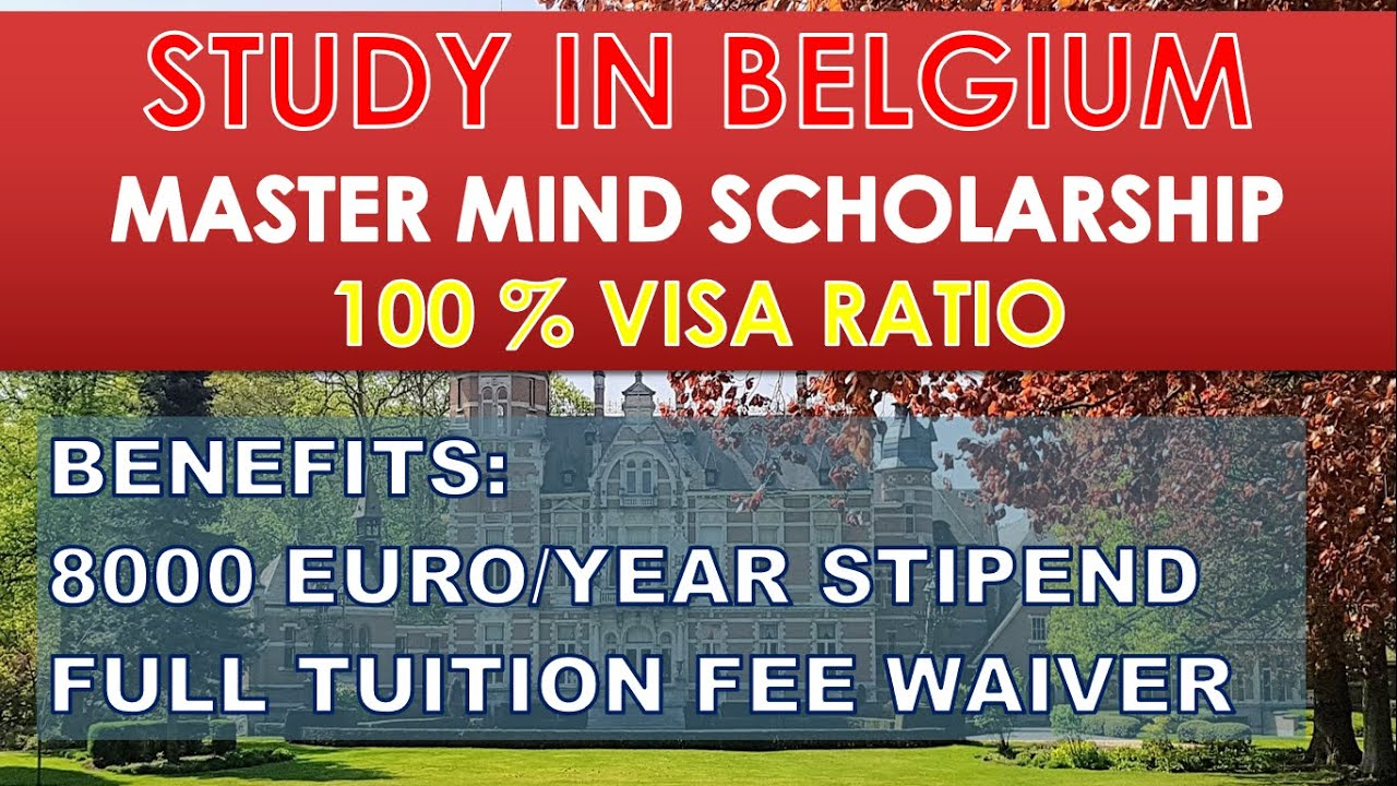 BELGIUM  Application Procedure  Latest Fully Funded ...