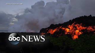 Toxic cloud prompts warning in Hawaii volcano emergency
