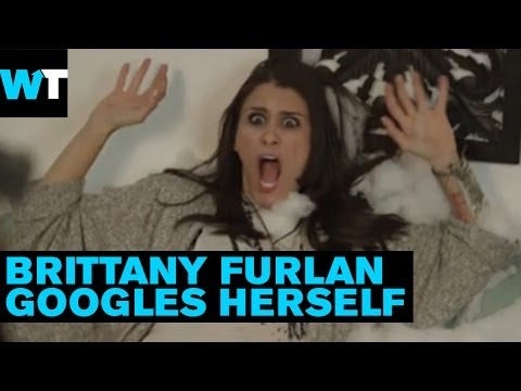 Brittany Furlan Googles Herself   What's Trending Live