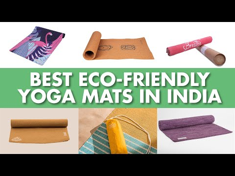 Best Eco Friendly Yoga Mats | India 2019 | FitNCalm Review