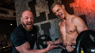 Jonas Ems startet Muskelaufbau!