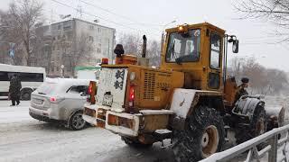 Снегоборьба в Самаре