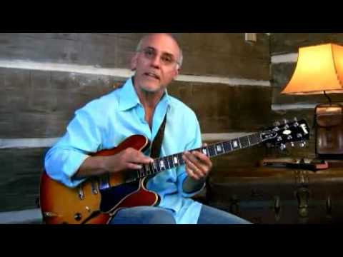 Larry Carlton - 335 Improv - Breaking Down Triads - Blues Guitar Lessons