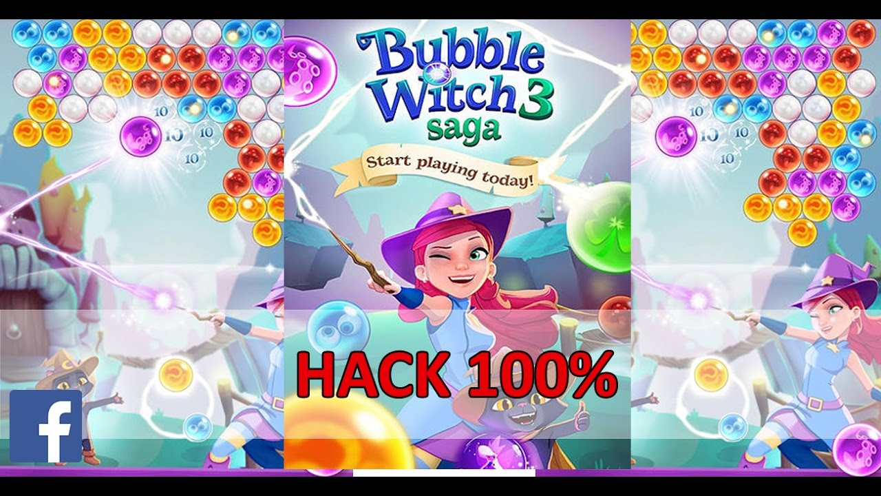 Bubble Witch 3 Saga Hack 100 Working Unlimited Boosters And Coins Facebook Game Room Youtube