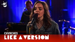 CHVRCHES cover Kendrick Lamar 'LOVE.' for Like A Version Video