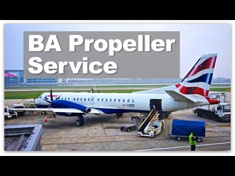 British Airways Euro Traveller | Review of BA's Saab 2000 Propeller Economy Eastern Service