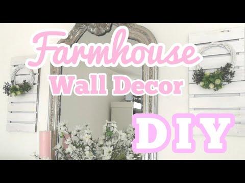 FARMHOUSE HOME DECOR DIY
