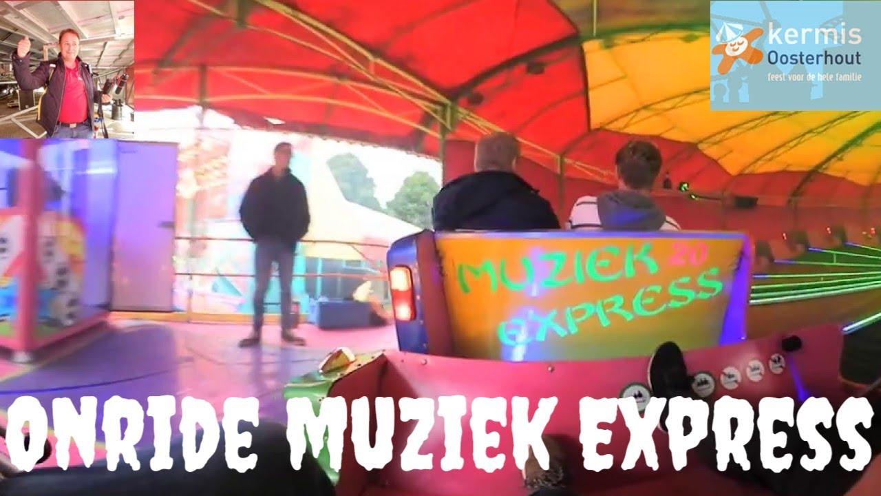 Onride 360 Muziek Express - van Zundert Kermis Oosterhout 2017 - YouTube