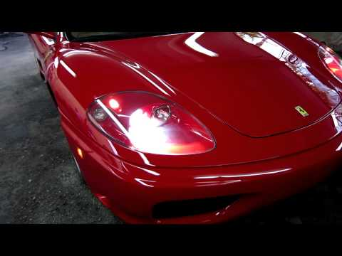 2002 Ferrari 360 Modena F1 by Advanced Detailing of South Florida