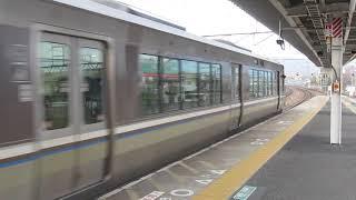 JR西日本 223系2000番台 普通 野洲行き 膳所駅 南草津駅  20190306