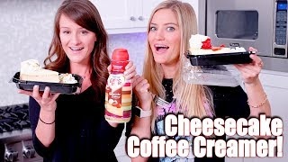 Cheesecake Factory Coffee Creamer TASTE TEST! ☕️