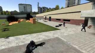 Альянс (Half-Life) против стражников (Skyrim)