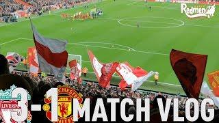 Liverpool v Man United 3-1 | Matchday Vlog