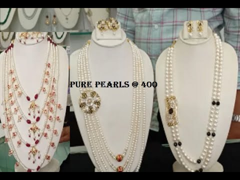 Pure Pearls Sets With Price | Hyderabad Pearls