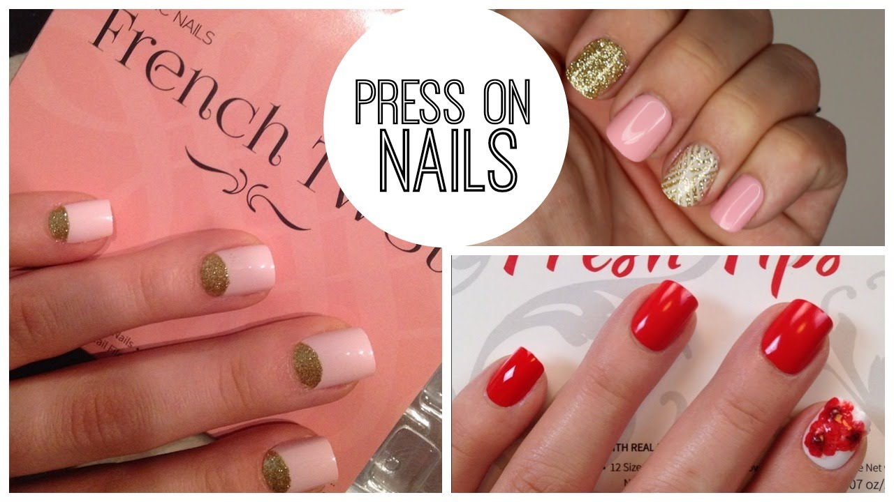Press On Nails Favorites How To Ly And Remove Without Damage Bailey B You
