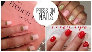 Press On Nails That Last A Week: favorites, how to apply, and remove without damage | Bailey B.
