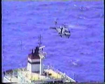 HMAS SYDNEY North Red Sea Boarding Ops 1991
