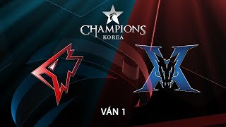 24.07.2018 Griffin vs KING ZONE LCK Ma H 2018 V n 1