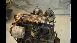 Капитальный ремонт двигателя! 3000 кадров в одном видео.