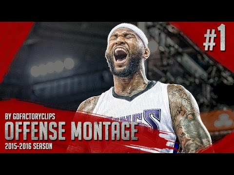 DeMarcus Cousins Offense & Defense Highlights Montage 2015/2016 (Part 1) - Best Center In The Game!