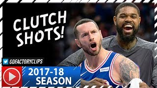 JJ Redick Full Highlights vs Pacers (2017.11.03) - 31 Pts, 7 Ast, CLUTCH!