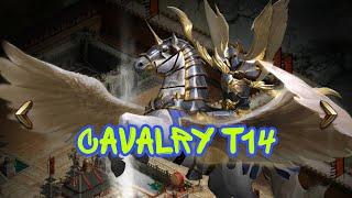 Кавалерия T14 обзор. Как настроить в поход Т14. Clash of Kings