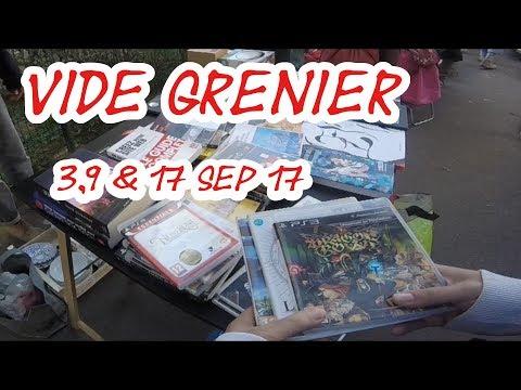Vide Grenier (LIVE) du 3, 9 & 17 septembre 2017