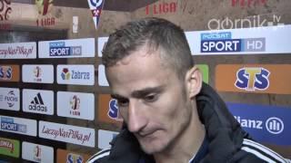 Górnik Zabrze 0-1 Znicz Pruszków. Opinia Erika Grendela (29.10.2016)