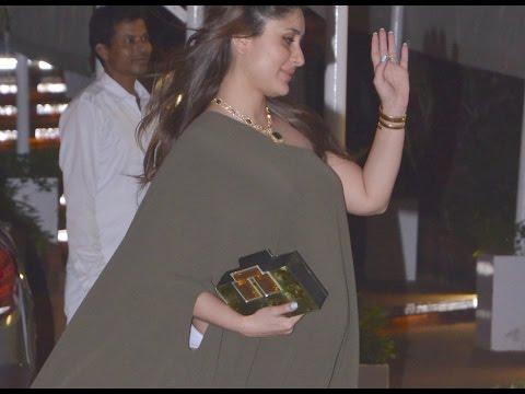 Pregnant Kareena Kapoor With Baby Bump At Rima Jain Birthday Bash | WATCH VIDEO