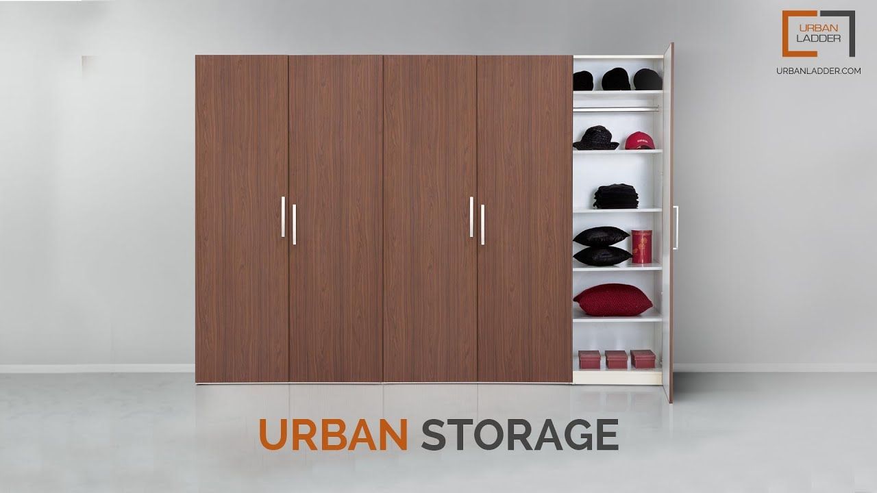 Urban Storage The Wardrobe Configuration App From Urban Ladder Youtube