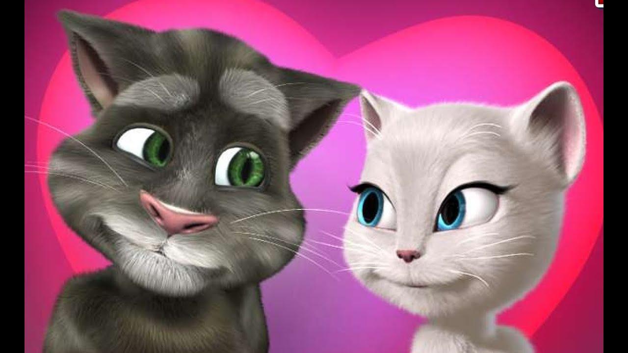 Анжела кот том и рыжик