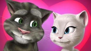 Говорящий кот Том и Рыжик, кошка Анжелика - все серии подряд