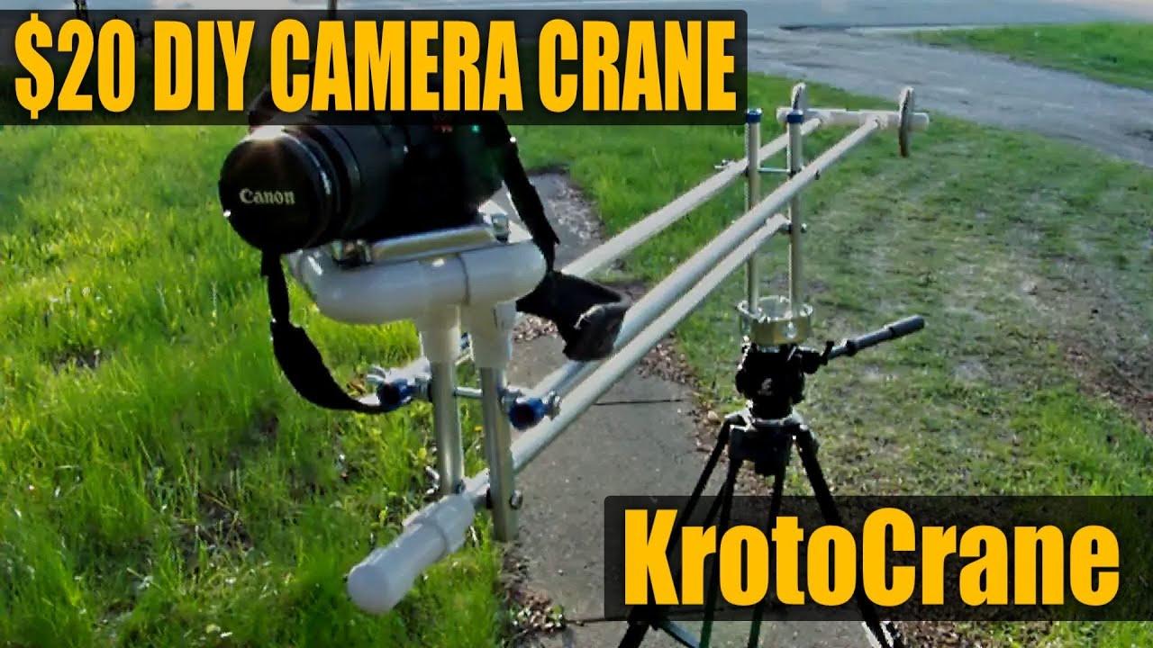 Jib Crane Gopro : Diy camera crane jib krotocrane