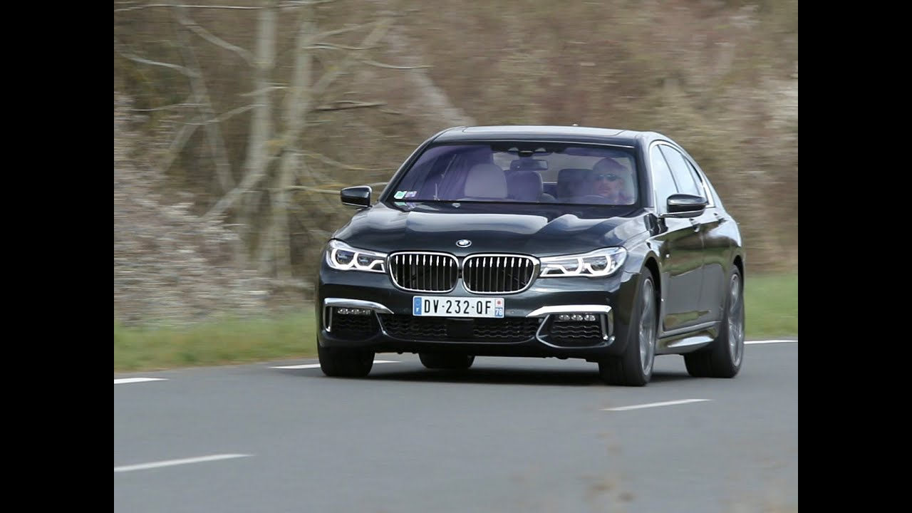 essai bmw 750i xdrive m sport 2016 youtube