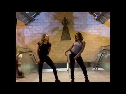 "Gabrielle Union & Jessica Alba ""Lil BeBe Remix"" Dance Video"