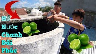 NVL | Cùng Team Làm Hồ Nước Chanh Tặng Phúc
