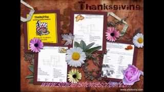 75 Thanksgiving-themed Vocabulary Worksheets And Puzzles