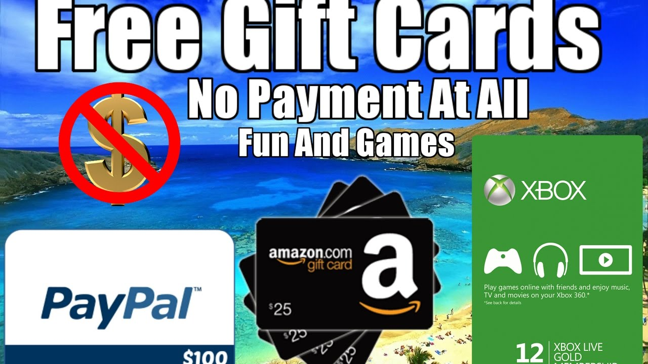 Online giveaways free amazon paypal