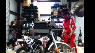 dancing motocross kid 11 yrs old my son is a nut turn down for what dj snake lil john