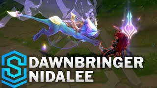 Dawnbringer Nidalee Skin Spotlight - League of Legends