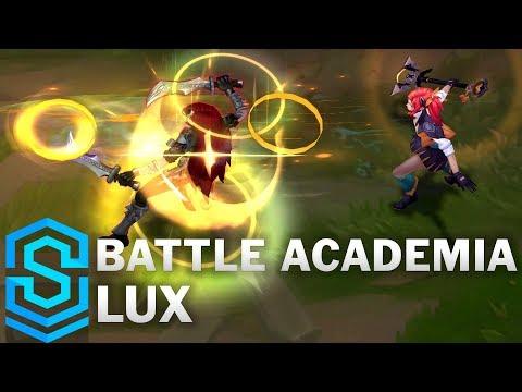Battle Academia Lux Skin Spotlight