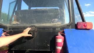 мтз 50 57 года самодельная кабина трактор друга