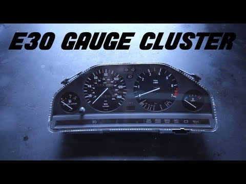 HOW OT REMOVE & REPLACE YOUR E30 GAUGE CLUSTER (SIMPLE)