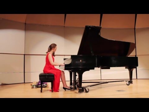 Rachmaninov, Prelude in G minor, Op.23. No.5 - Natalia Lauk at Goranson Hall (Idaho State University