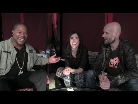 Within Temptation ft. Xzibit - the interview pt. 1