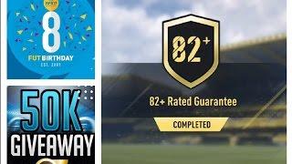 FIFA 17 *50K GIVEAWAY* FUT BIRTHDAY SBC's! SBC's + TRADING/INVESTING!