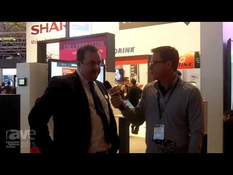 ISE 2015: Gary Kayye Interviews Michael Bailly of Sharp