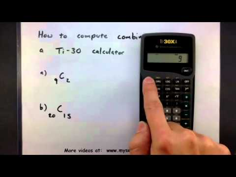 probability how to compute combinations using a calculator youtube probability how to compute combinations using a calculator